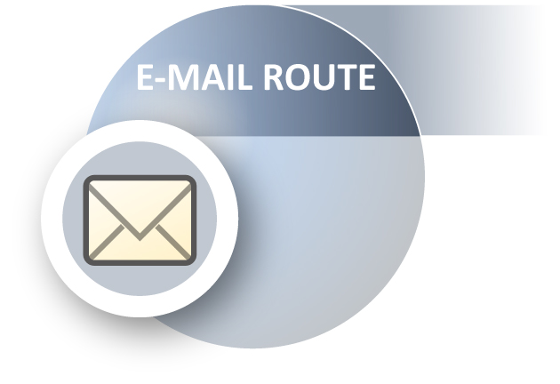 ACHAT E-Mail Route
