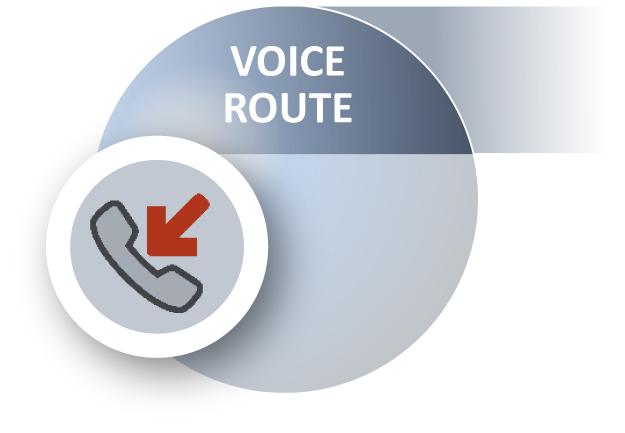 ACHAT Voice Route